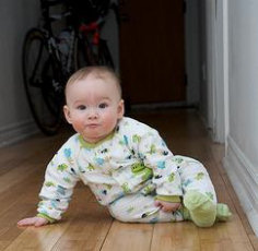 Baby Crawling Development